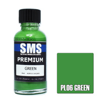 Scale Modellers Supply Premium Green 30ml PL06 Laquer Paint