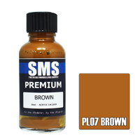 Scale Modellers Supply Premium Brown 30ml PL07 Laquer Paint