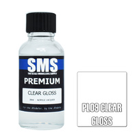 Scale Modellers Supply Premium Clear Gloss 30ml PL09 Laquer Paint