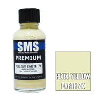 Scale Modellers Supply Premium Yellow Earth 7K 30ml PL114 Laquer Paint