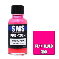 Scale Modellers Supply Premium Fluro Pink 30ml PL44 Laquer Paint