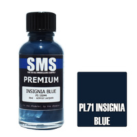 Scale Modellers Supply Premium Insignia Blue 30ml PL71 Laquer Paint