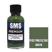 Scale Modellers Supply Premium Protective Green 30ml PL82 Laquer Paint