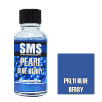 Scale Modellers Supply Pearl Blue Berry 30ml PRL11 Laquer Paint