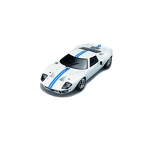 Solido 1/18 Ford GT-40 Wide Body - White w/Blue Stripes - Diecast