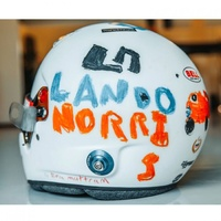 Spark 1/5 Lando Norris 2020 British GP Model Helmet