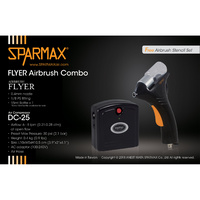Sparmax DC-25 + Flyer Airbrush Kit