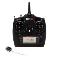 Spektrum DX6 Transmitter System w/ AR6600T Receiver, Mode 2, SPM6755