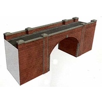 Superquick OO Tunnel Entrance Red Brick Card Kit