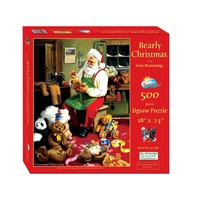 Suns Out Bearly Christmas 500Pc Jigsaw Puzzle