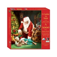 Suns Out A Cookie For Santa 1000Pc Jigsaw Puzzle