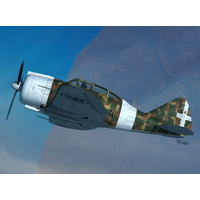Sword 1/72 Reggiane Re.2000 Falco Plastic Model Kit