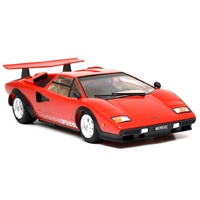 Tamiya 1/24 Lamborghini Countach LP500S (Red Body with Clear Coat) 25419
