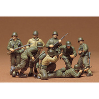 Tamiya 1/35 US Infantry Western European theatre 35048