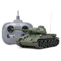 Tamiya 1/35 Russian T-34-85 with 4CH Transmitter
