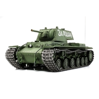 Tamiya 1/16 KV-1 Russian Tank with Options RC Tank Kit 56028