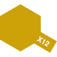 Tamiya Enamel X-12 Gold Leaf 10mL Paint 80012