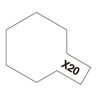 Tamiya Enamel X-20 Thinner 10mL 80020