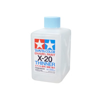 Tamiya Enamel Thinner Oversized (X-20) 250mL 80040