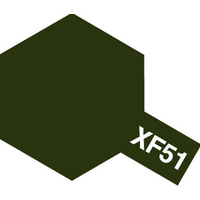 Tamiya Enamel XF-51 Khaki Dove 10mL Paint 80351