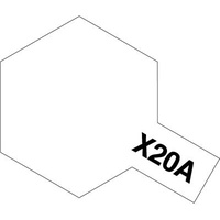 Tamiya Acrylic Mini X-20A Thinner 10mL 81520