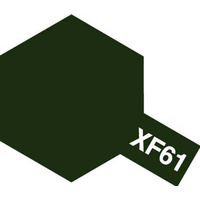 Tamiya Acrylic Mini XF-61 Dark Green 10mL Paint 81761