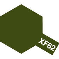 Tamiya Acrylic Mini XF-62 Olive Drab 10mL Paint 81762