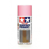 Tamiya 180mL Fine Surface Primer (Pink) 87146