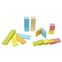 Tegu - Magnetic Wooden Blocks 14pc - Tints