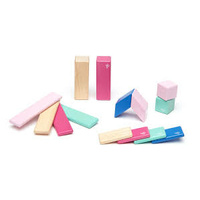 Tegu - Magnetic Wooden Blocks 14pc - Blossom