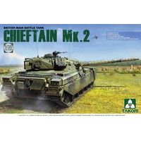 Takom 1/35 Chieftain MK2 - 2040 Plastic Model Kit