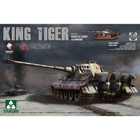 Takom 2047S 1/35 King Tiger Henschel Turret w/Zimmerit and interior [Pz.Abt.505 special edition]