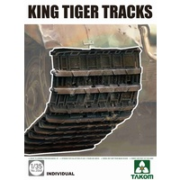 Takom 1/35 King Tiger Tracks - 2048 Plastic Model Kit