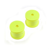 TLR Fr/R Wheel, Yellow: 22T, TLR7002