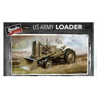 Thunder Models 1/35 Case US Army Tractor w/ Loader Plastic Kit
