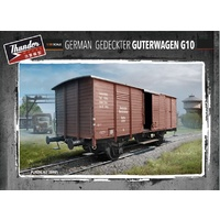 Thunder Models 1/35 German G10 Guterwagen Rail Car Plastic Kit