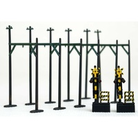 Tomytec Scenery collection 037-3 Overhead wire mast style C3