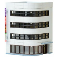 Tomytec Building Collection 134-2:Corner Modern Office Building