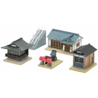 Tomytec Building Collection 162:Shinto Shrine Accessory Set