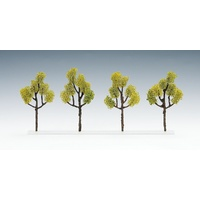 Tomix N Evergreen Tree (Light Green/ 4pcs) 081845