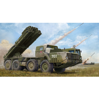 Trumpeter 01020 1/35 Russian 9A52-2 Smerch-M multiple rocket launcher of RSZO 9k58 Smerch MRLS