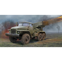 Trumpeter 1/35 Russian BM-21 Grad Multiple Rocket Launcher 01028 Plastic Model Kit