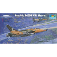 Trumpeter 02202 1/32 U. S. Republic F-105G Wild Weasel Plastic Model Kit