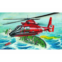 Trumpeter 1/48 US HH-65A Dolphin Helicopter 02801 Plastic Model Kit