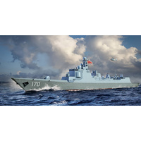 Trumpeter 06730 1/700 PLA Navy Type 052C Destroyer Plastic Model Kit