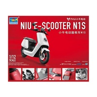 Trumpeter 1/12 NIU E-SCOOTER N1S - pre-painted Plastic Model Kit 07305