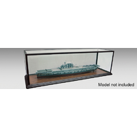 Trumpeter 09843 Glass Showcase - Length: 1.5m