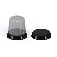 Trumpeter Round top Display case - Led stand 84 x 115mm