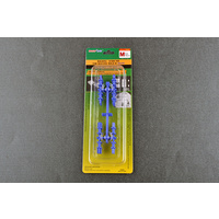 Trumpeter Holding / Guide pin for silicone mould-M(Blue) Modelling Tool 09983