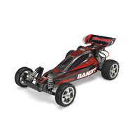 Traxxas 1/10 Bandit Extreme XL-5 Sports 2WD Brushed Off Road Buggy RTR (Red)
